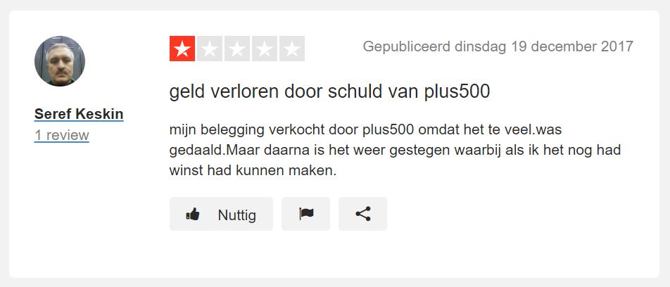 plus500 slechte review