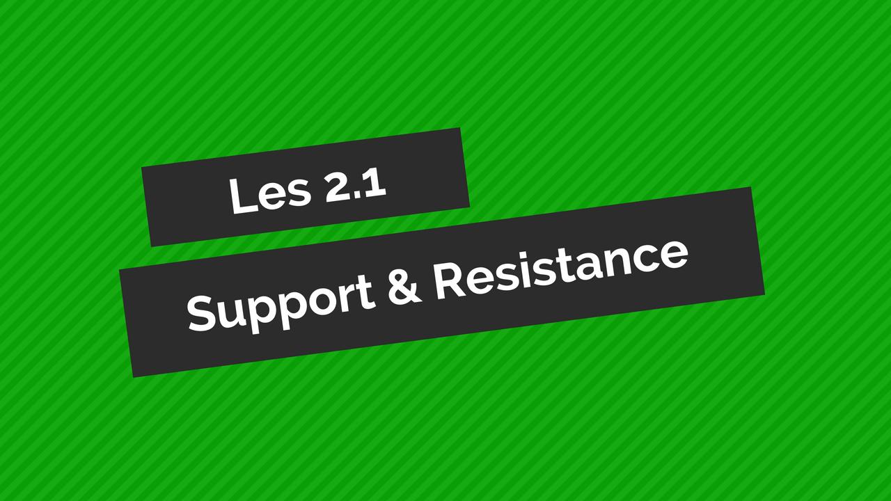 support-en-resistance