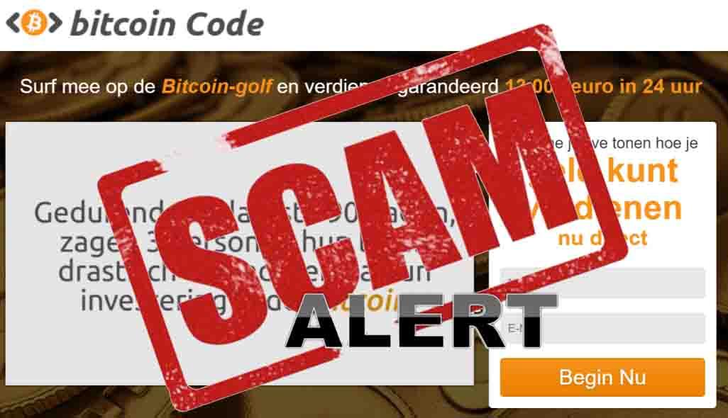 Bitcoin oplichterij