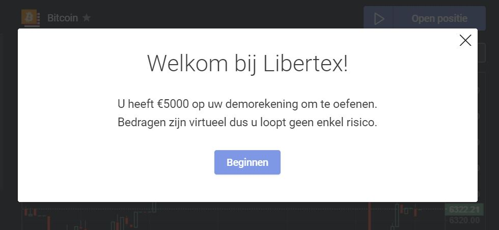 Libertex gratis demo account