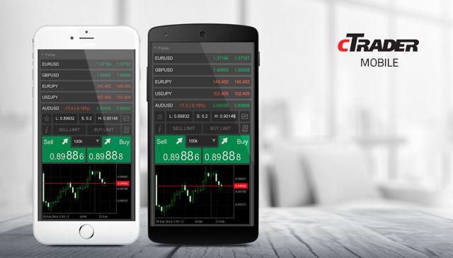 cTrader app