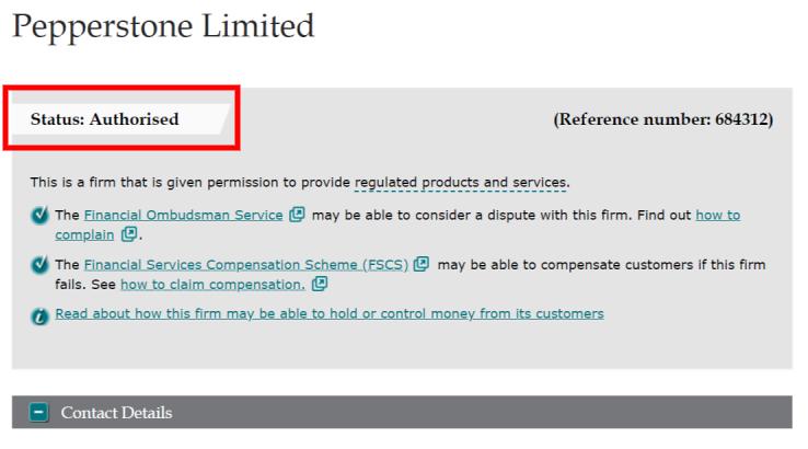 Gereguleerd door FCA
