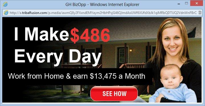 Werken vanuit huis scams