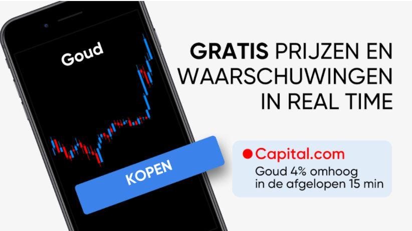 Mobiele trading app